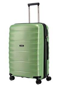 Titan - HIGHLIGHT - Wheeled suitcase - green metallic - 3