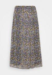 NAF NAF - BETTY - Maxi skirt - betty bleu marine - 4