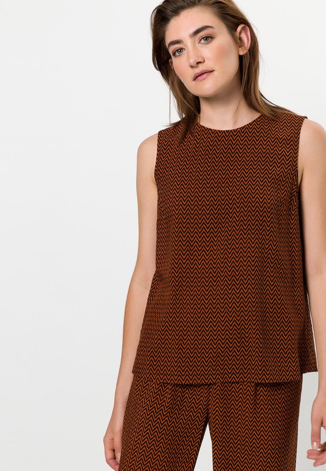 MIT MUSTER - Blouse - terra