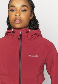 Columbia - BEACON TRAILSHELL - Ulkoilutakki - marsala red - 4