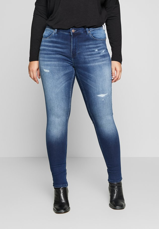 CARCARMA  - Jeans Skinny Fit - medium blue denim