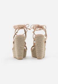 EGO - HATTIE - Sandalen met hoge hak - nude - 3