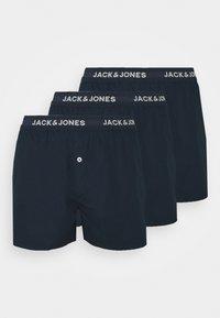 Jack & Jones - BASIC TRUNKS 3 PACK - Boxer shorts - navy blazer/navy blazer - 2
