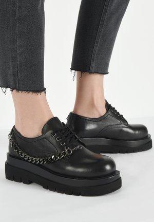 Casual lace-ups - black blk