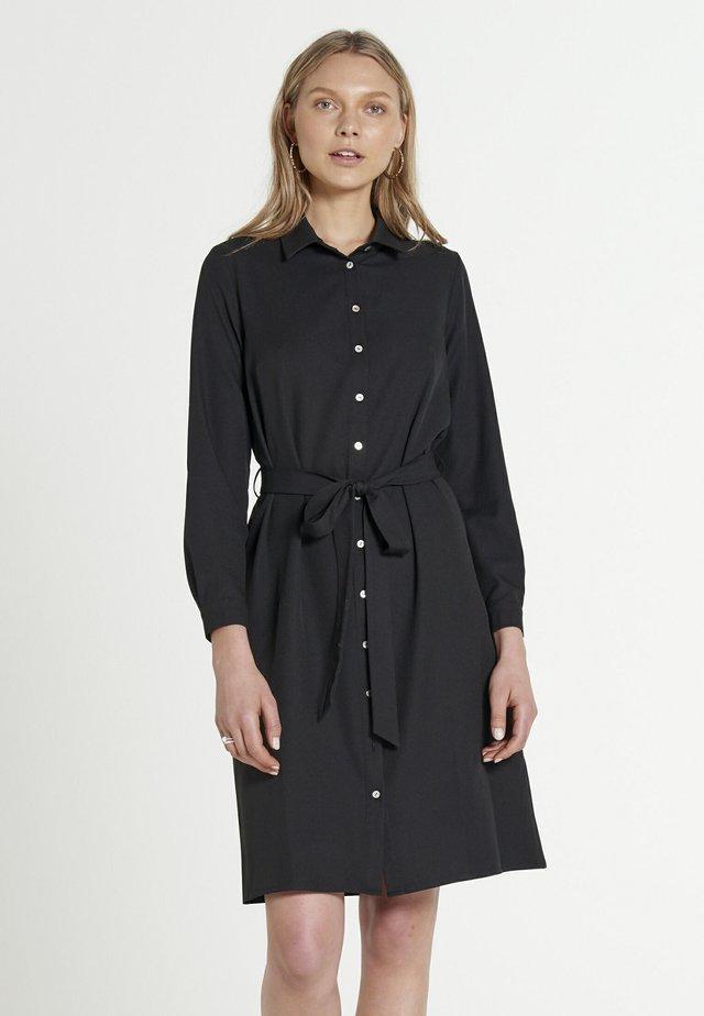 JOPLIN MAROCAIN - Abito a camicia - black