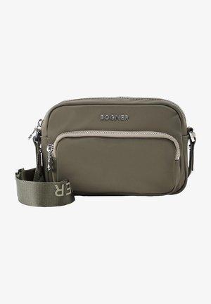 KLOSTERS LIDIA - Across body bag - oliv-grün