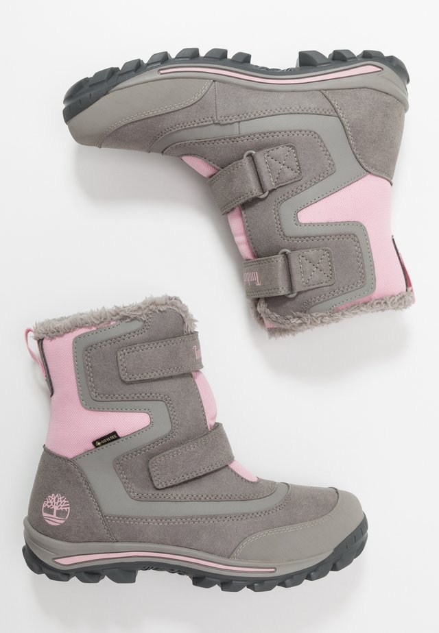 CHILLBERG 2-STRAP GTX - Botas para la nieve - medium grey