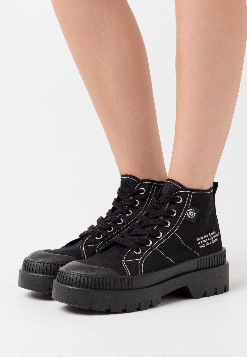 Kaltur - High-top trainers - black