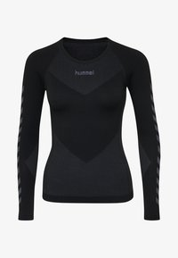 Hummel - Langærmede T-shirts - black - 2