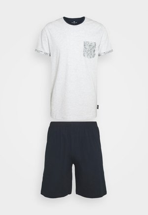 SHORTY - Pyjamas - white light melange