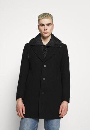 Classic coat - black