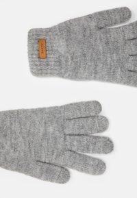 Barts - WITZIA GLOVES - Gloves - heather grey - 1