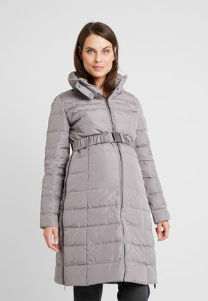 3IN1 ANNA - Kabát zprachového peří - taupe