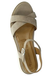 Tamaris - Sandals - taupe - 1
