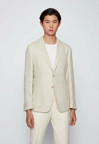 BOSS - Blazer jacket - natural - 0