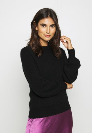 JACI CREW NECK - Jumper - black