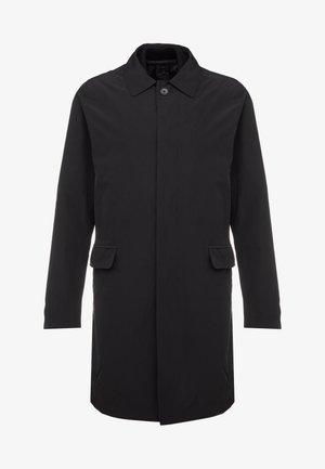CRANDALL - Halflange jas - black