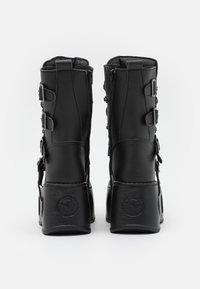New Rock - UNISEX - Bottes à lacets - black - 2