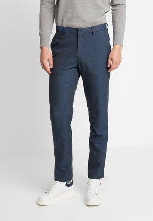 HIGHLIGHT CHECK - Pantaloni - blue
