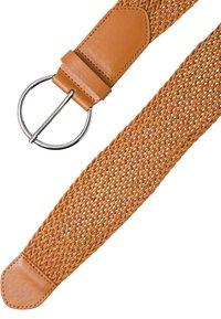 zero - Braided belt - gold cognac - 1