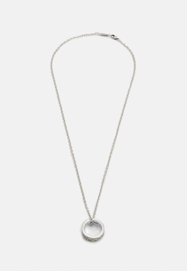 SUN RISE PATTERN NECKLACE - Halsband - silver-coloured
