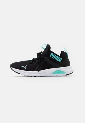 ENZO 2 GLOW JR UNISEX - Neutral running shoes - black/aruba blue