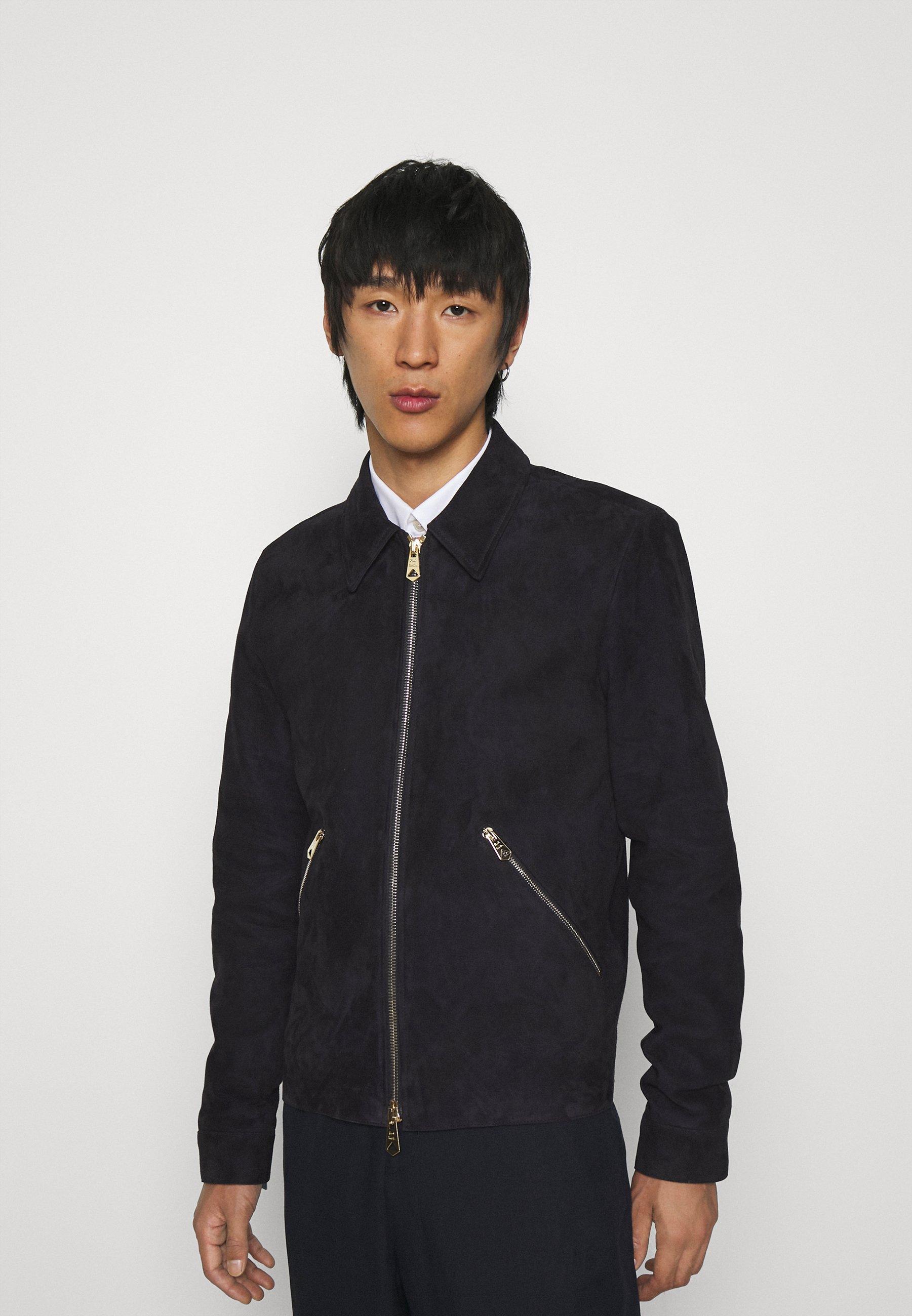 Men JACKET - Leather jacket