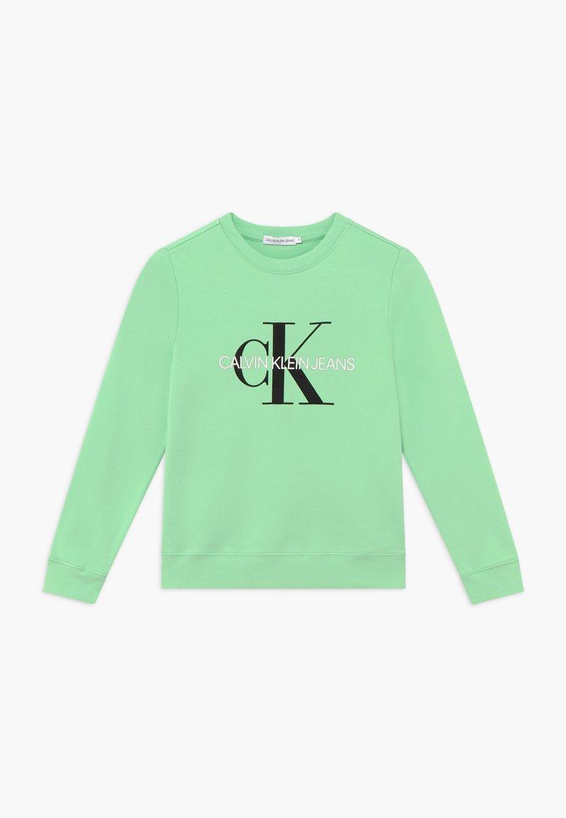 Calvin Klein Jeans - MONOGRAM LOGO UNISEX - Sweater - green