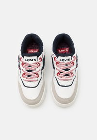 Levi's® - IRVING - Trainers - white/navy - 3