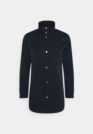 TERRY STRETCH COAT - Manteau court - navy