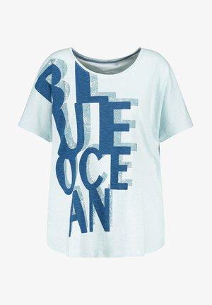 Camiseta estampada - skylight gemustert