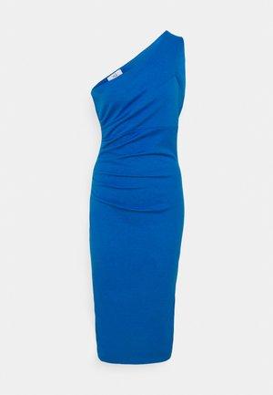 GRACE RUCHED DRESS - Jersey dress - royal blue