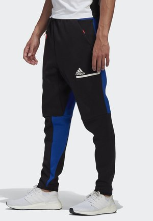ADIDAS Z.N.E. TRACKSUIT BOTTOMS - Tracksuit bottoms - black