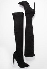 Steve Madden - DADE - High heeled boots - black - 3