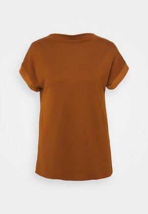 HIGH NECK - T-shirt basic - toffee