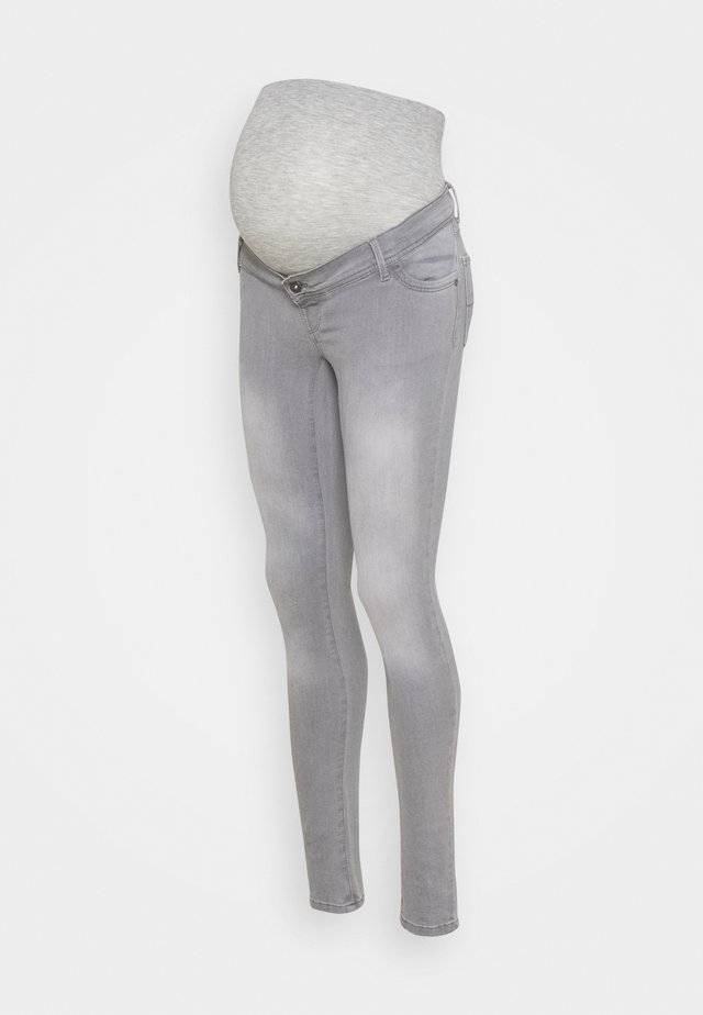 SUPER SKINNY SUSTAINABLE - Skinny džíny - grey denim