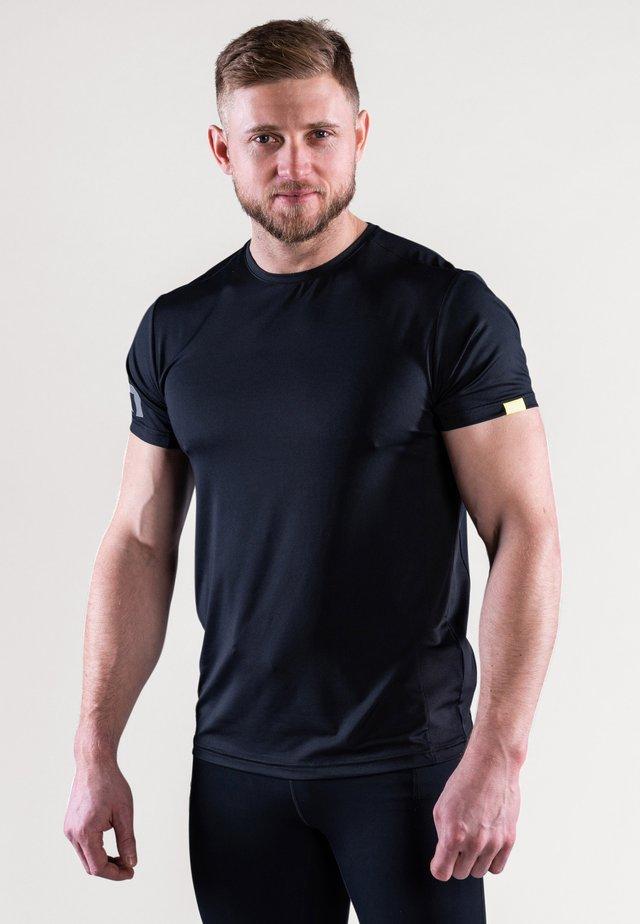 MIST - T-shirt imprimé - black