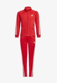 adidas Performance - TEAM - Trainingspak - red - 0