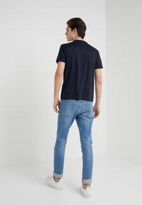 Emporio Armani - 2 PACK - T-shirts basic - dark blue - 2