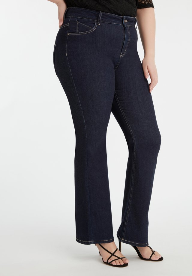 MAGIC SIMPLICITY FLARED  - Flared Jeans - blue