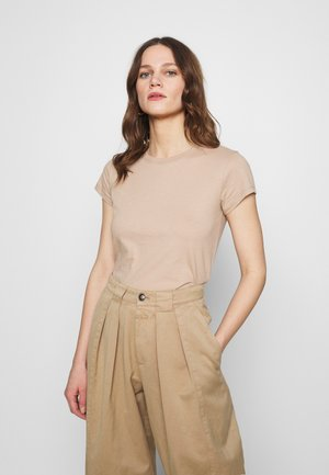 KNOTTED MIDI - Basic T-shirt - brown