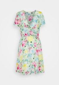 Vila - VIADALINA WRAP DRESS - Day dress - jelly bean - 3