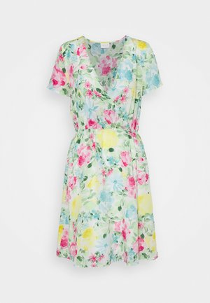 VIADALINA WRAP DRESS - Sukienka letnia - jelly bean