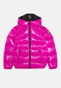 Colmar Originals - GIRL JACKET MADE BY SUPER SHINY FABRIC - Down jacket - mermaid/nero - 0