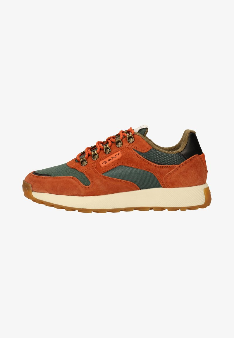 GANT - Sneakers laag - b.orange/tart.green g