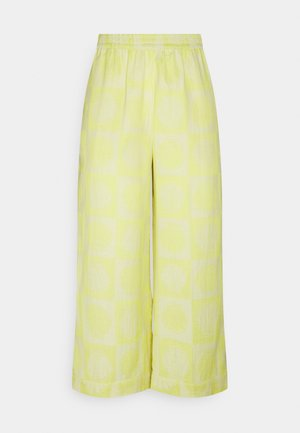 HELEN - Trousers - canary yellow