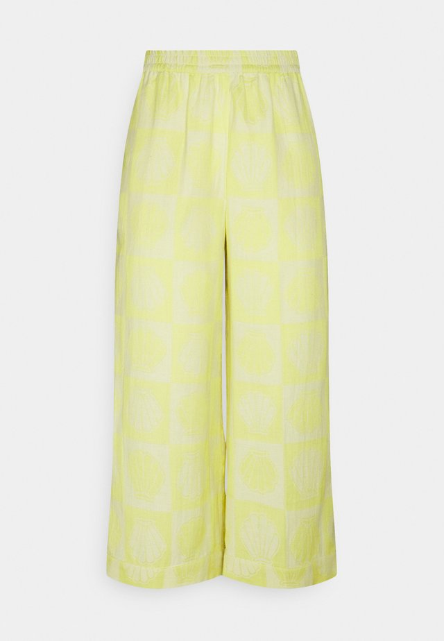 HELEN - Pantalon classique - canary yellow