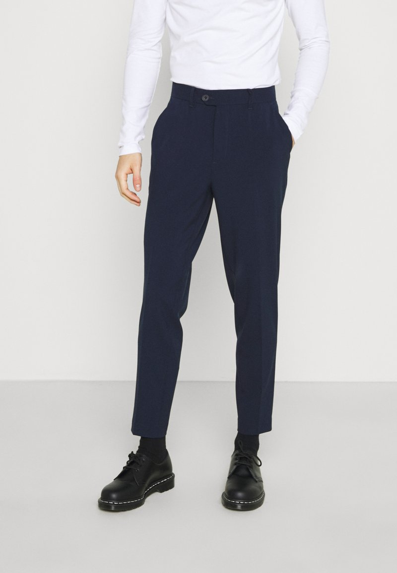 Casual Friday - PAX PANTS - Trousers - navy blazer