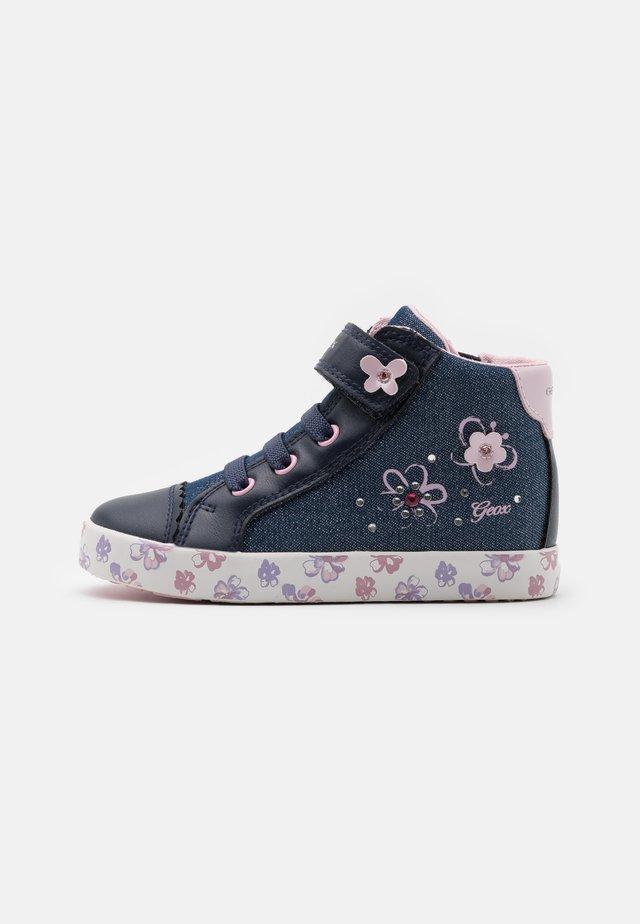 KILWI GIRL - Sneakers alte - avio/pink