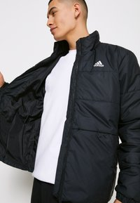 adidas Performance - 3 STRIPES INSULATED JACKET - Vinterjacka - black - 3